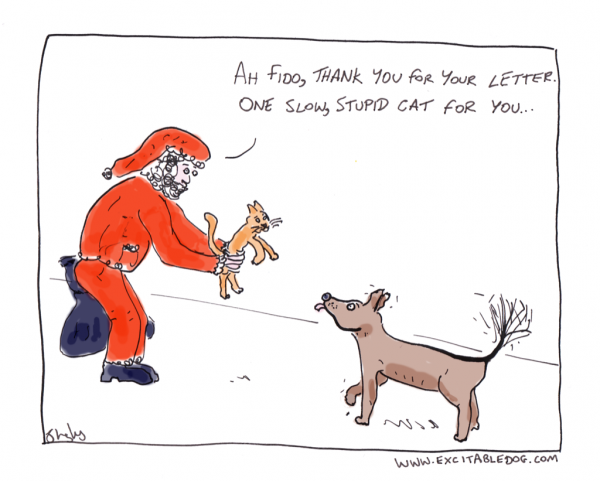 Fido writes to santa