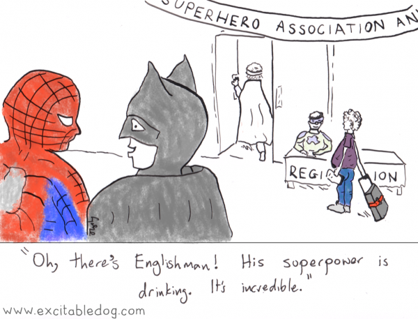 englishman superhero