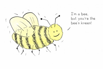 bees knees - 7 x 5 landscape