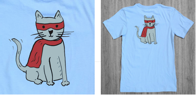 tshirt-superhero-cat